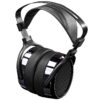 black set of headphones by HIFIMAN