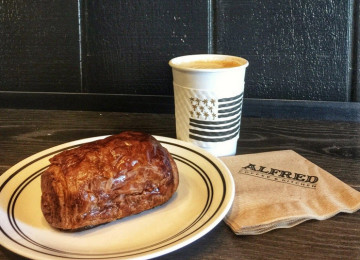 Alfred Coffee:  Underground, Effortlessly Hipster Coffee Shop