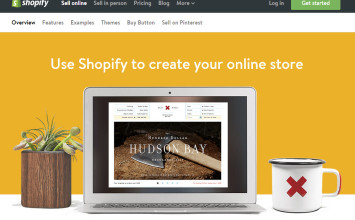 Shopify makes it easy to build and manage your online store