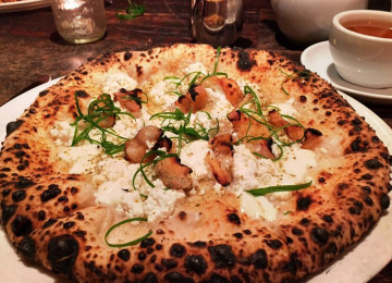 Sotto: Hip spot for Neapolitan pizza & regional Italian cooking