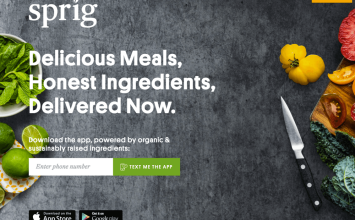 Sprig: the delivery app brings you delicious meals, prepared by great local chefs