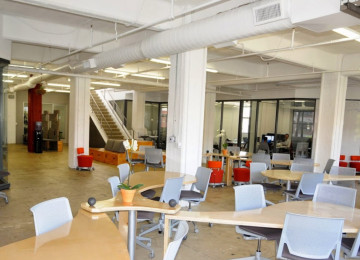 The Hub LA:  Cool co-working community located at the Arts District in downtown Los Angeles