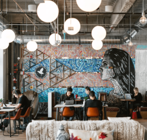 WeWork, a beautiful collaborative workspaces for startups around the world