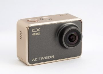 Capture amazing adventure moments with the Activeon CX Gold action camera