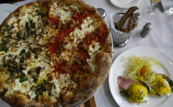 Bottega Louie:  Delicious pizzas, pastas & small plates in a bright, bustling space in DTLA