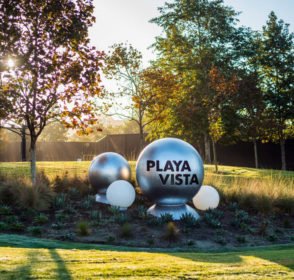 Living and working in Playa Vista, California