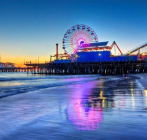 Living and working in Santa Monica, California