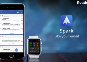 Work through mountains of email faster with Spark inbox app